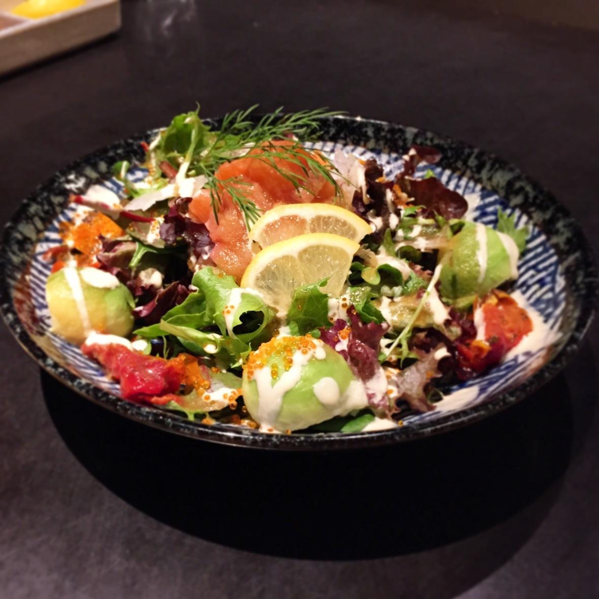 Rengaya Salmon and Avocado Salad