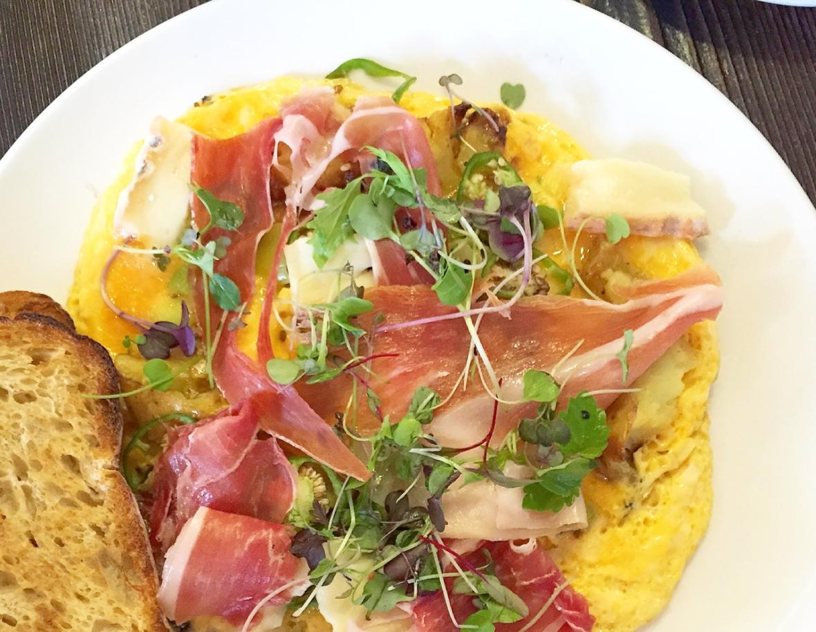 Top Paddock Omelette