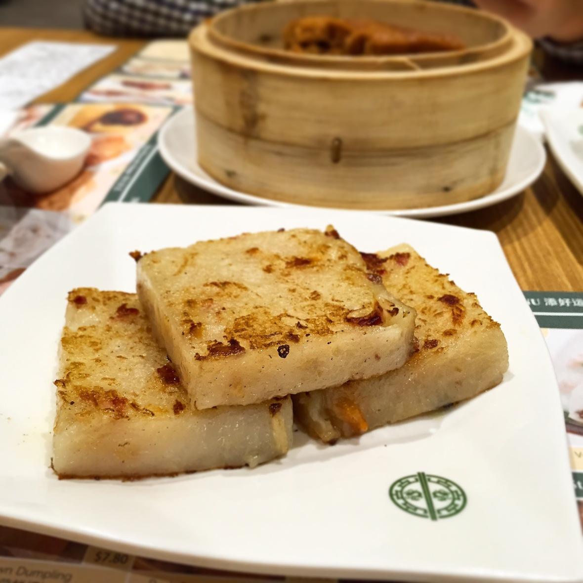Tim Ho Wan Turnip Cake