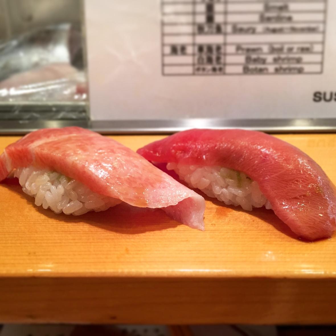 Sushi Dai Toro Nigiri