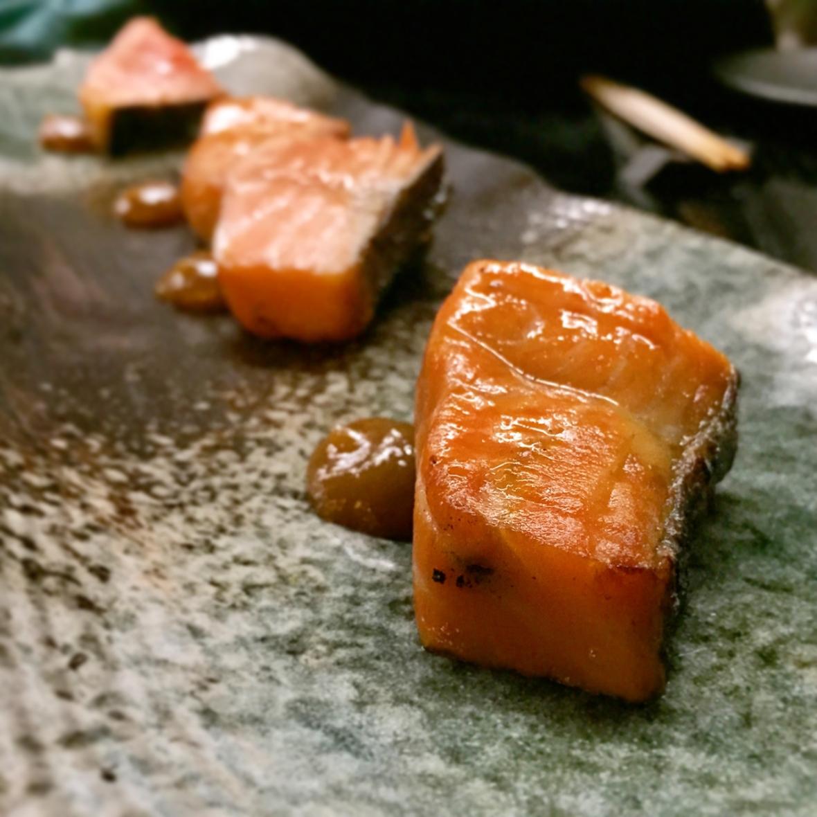 Sokyo Binchoutan Salmon