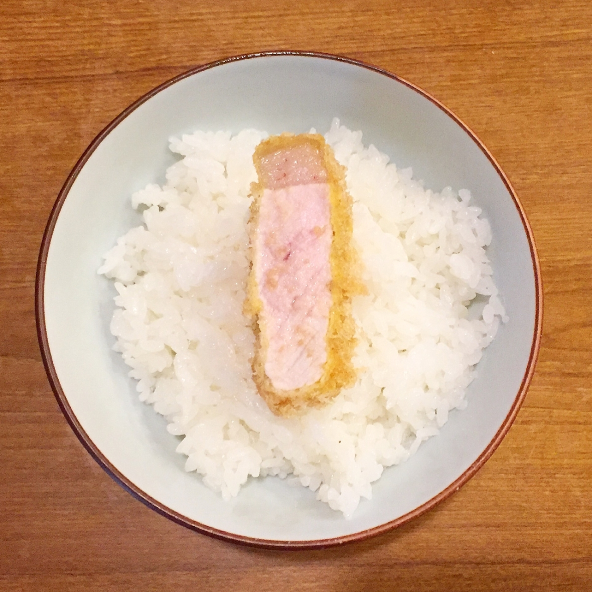 Tonta Tonkatsu with Rice