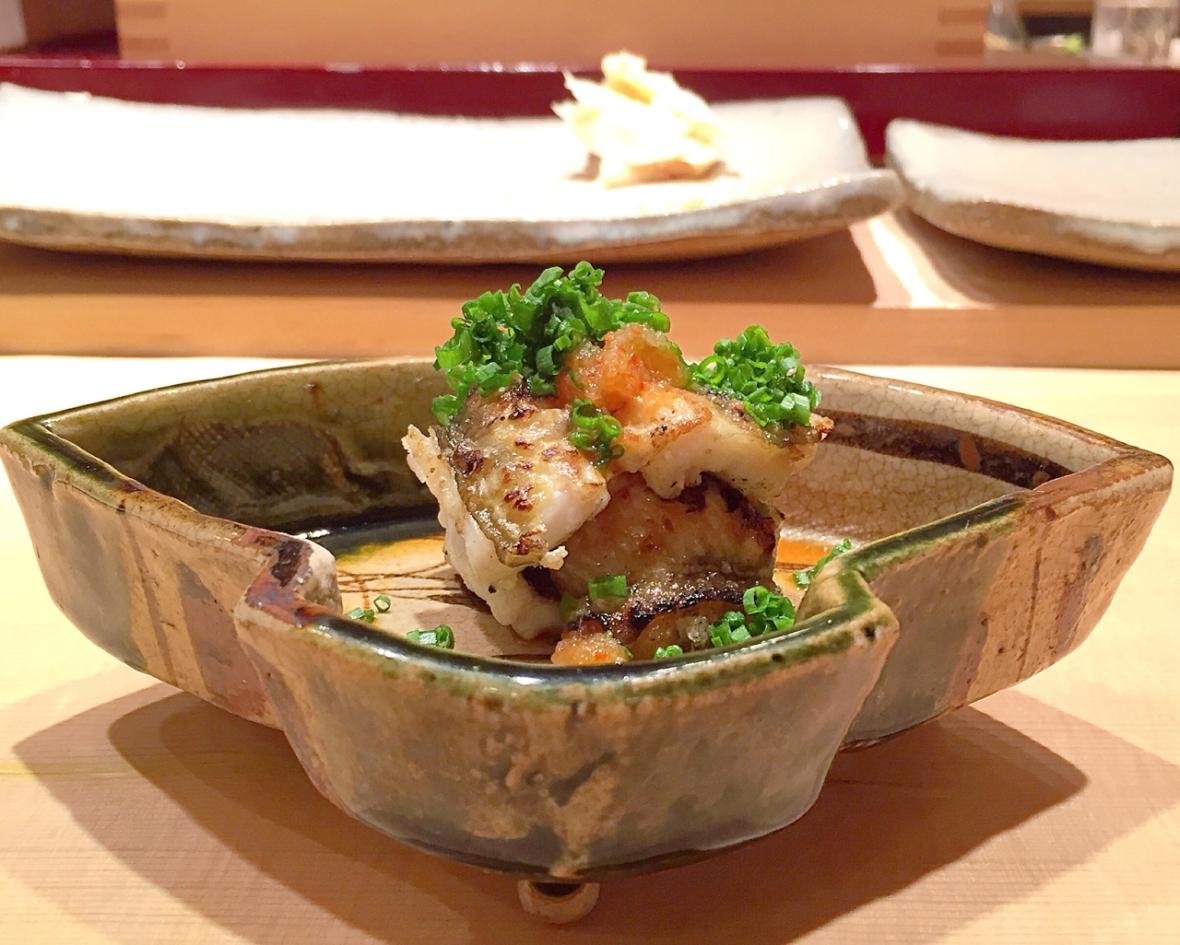Sushiya Anagao Shirayaki