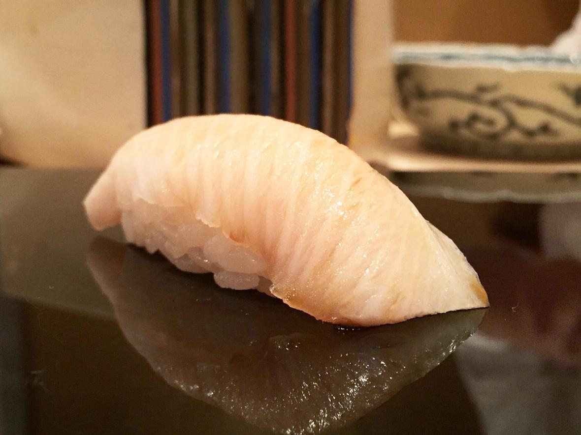 Harutaka Butterfish Nigiri