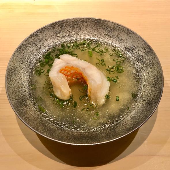 Sushi Namba Kinki with Broth